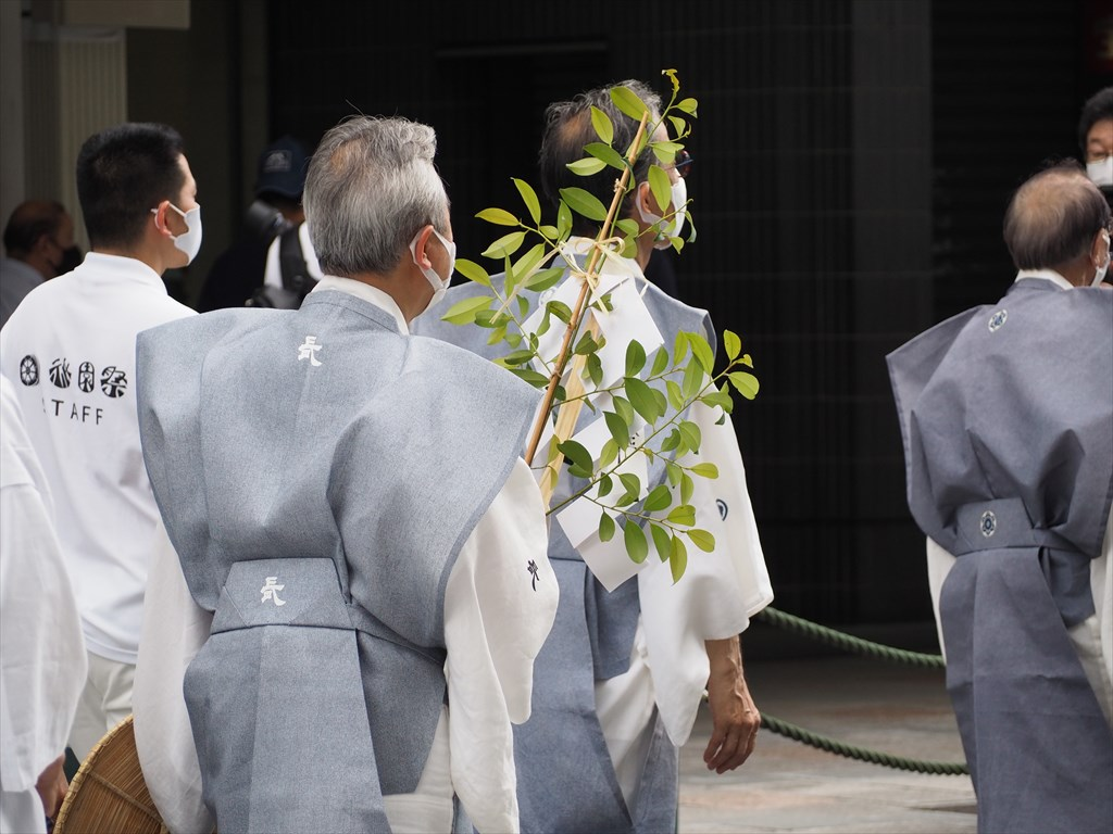 祇園祭 前祭の拝礼巡行 2021年