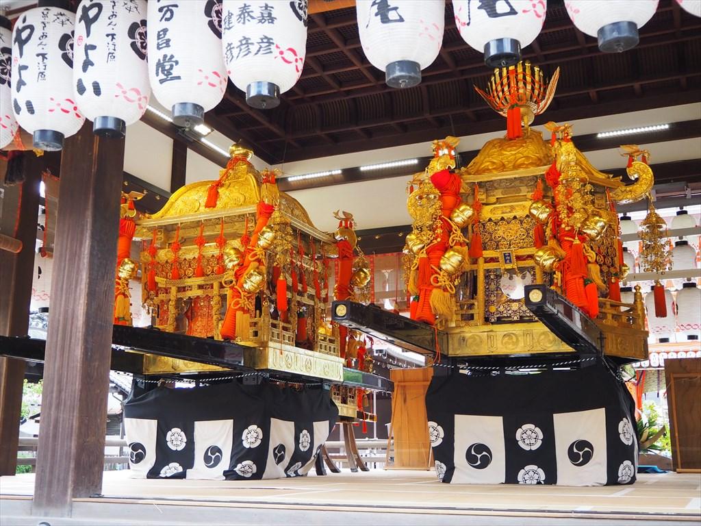 八坂神社のお神輿