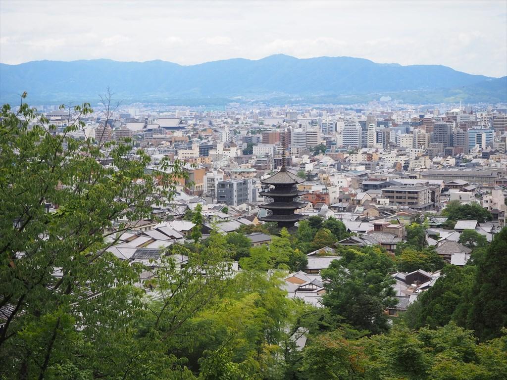 京都霊山護国神社からの眺め