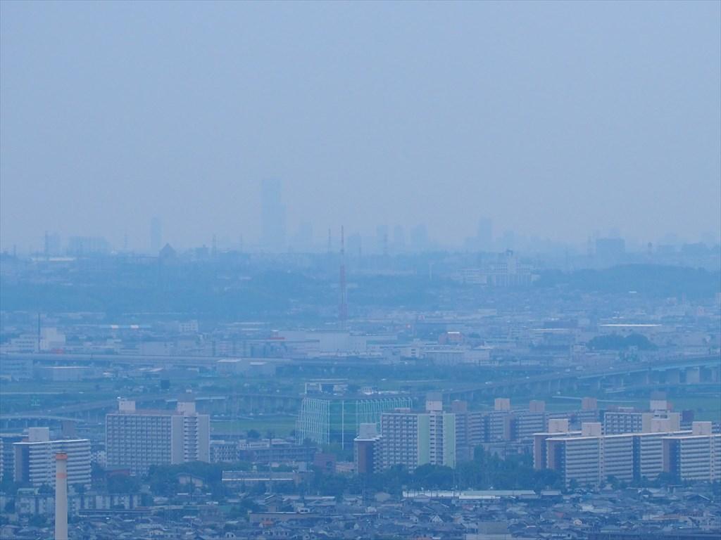笠原寺展望台からの眺め