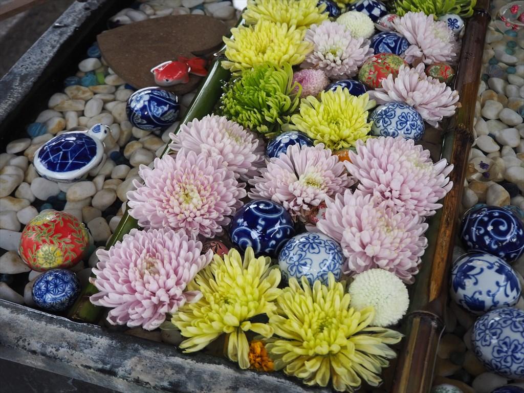 楊谷寺 様々なご利益と美しい花手水