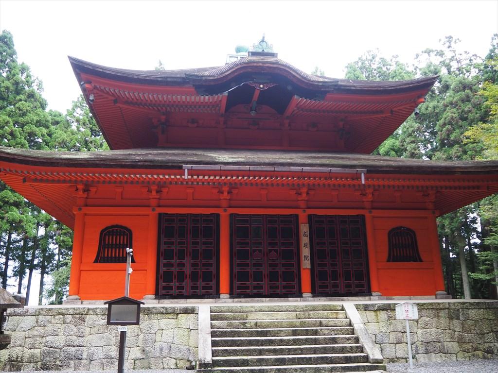 【現地】最澄ゆかりの比叡山へ!戒壇院と東塔内部の特別拝観!