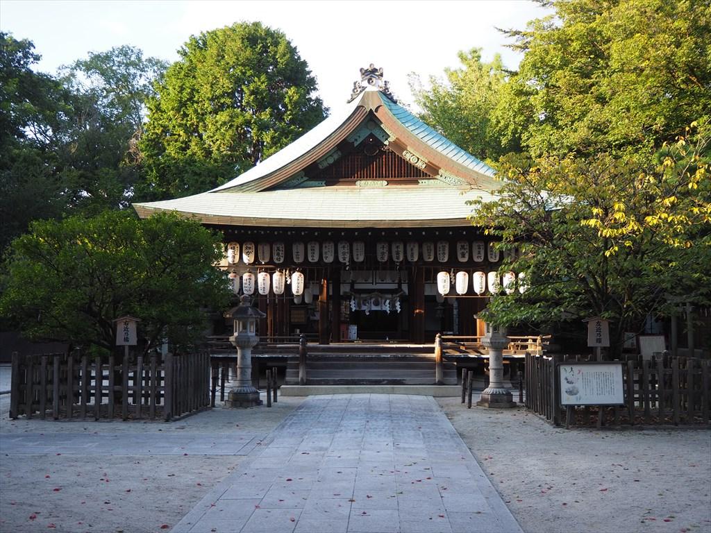 【現地】晴明神社・白峯神宮 街中の小社と史跡巡り
