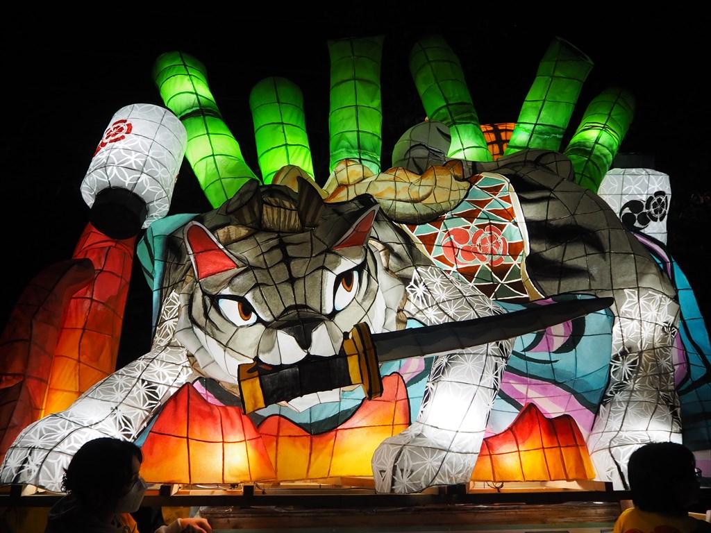 粟田祭 夜渡り神事の大燈呂 2021年